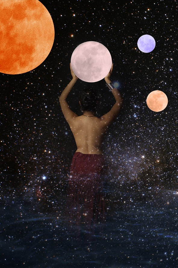 Goddess of the Moon and Stars