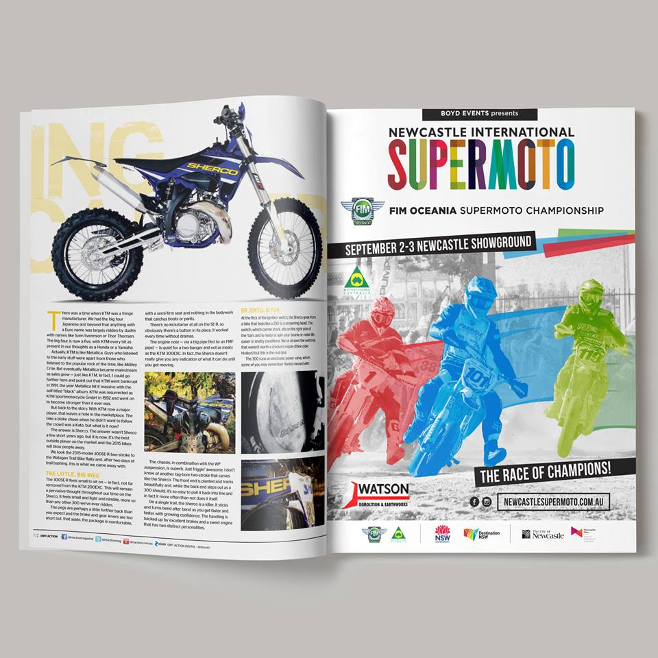 NEWCASTLE INTERNATIONAL SUPERMOTO