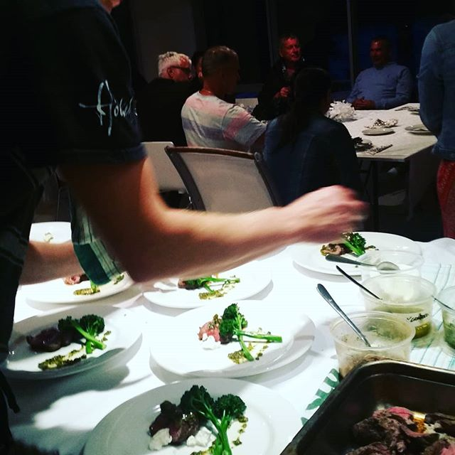 Flair to finish #nzbeef #kawakawarub #pickledkawakawa #goatscheese #elegantdining #yourplace #orours