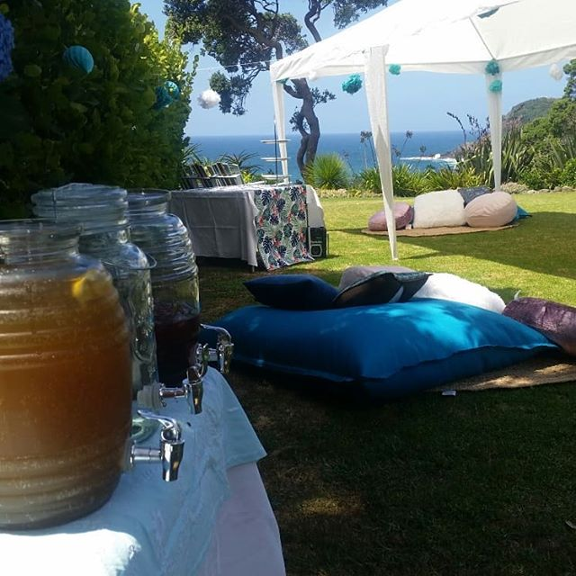 Sunday set ups. Perfect conditions awaiting our beautiful people. #tutukakacoast #catering #sunday #funday #cocktails #gazebos #picnic #friends #planning #styling