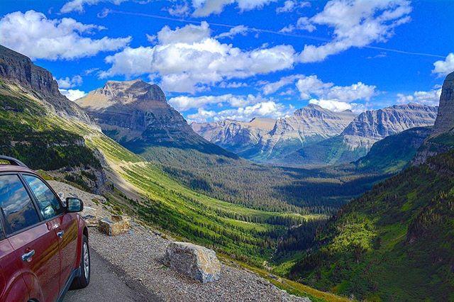 Pretty views on the #goingtothesunroad in #glacier #nationalpark #montana #roadtrip #audiodrama #fiction #podcast #roadtripradio
