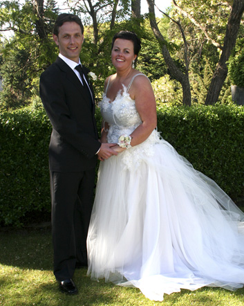 Kirsty & Chris<br>Married at Hilton Lake Taupo, November, 2011