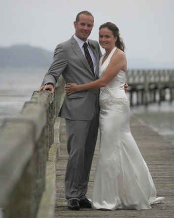 Nicola & Aaron<br>Married at Oreti Village Resort, Lake Taupo in May, 2010