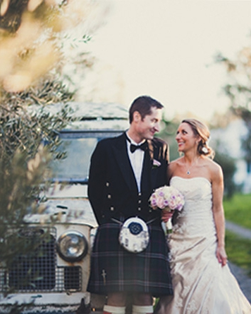 Terri & Paul<br>Married at Tarureka Estate, Featherston in September 2013 - photo's courtesy of Emily Roper from Clipic