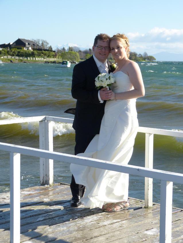 Judith & Greg<br>Millennium Hotel & Resort, Manuels, Taupo, September 2013