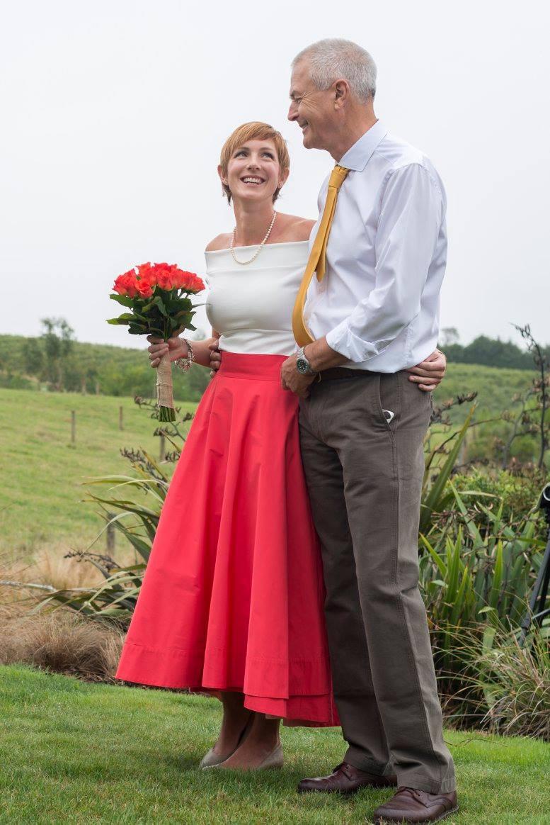 Kathryn & Glyn<br>Married in Nelson, March 2017