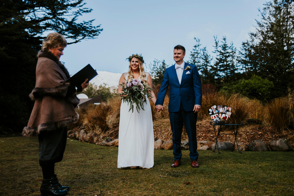 Ashley & Bryan<br>Married at The Chateau Tongariro in September 2016