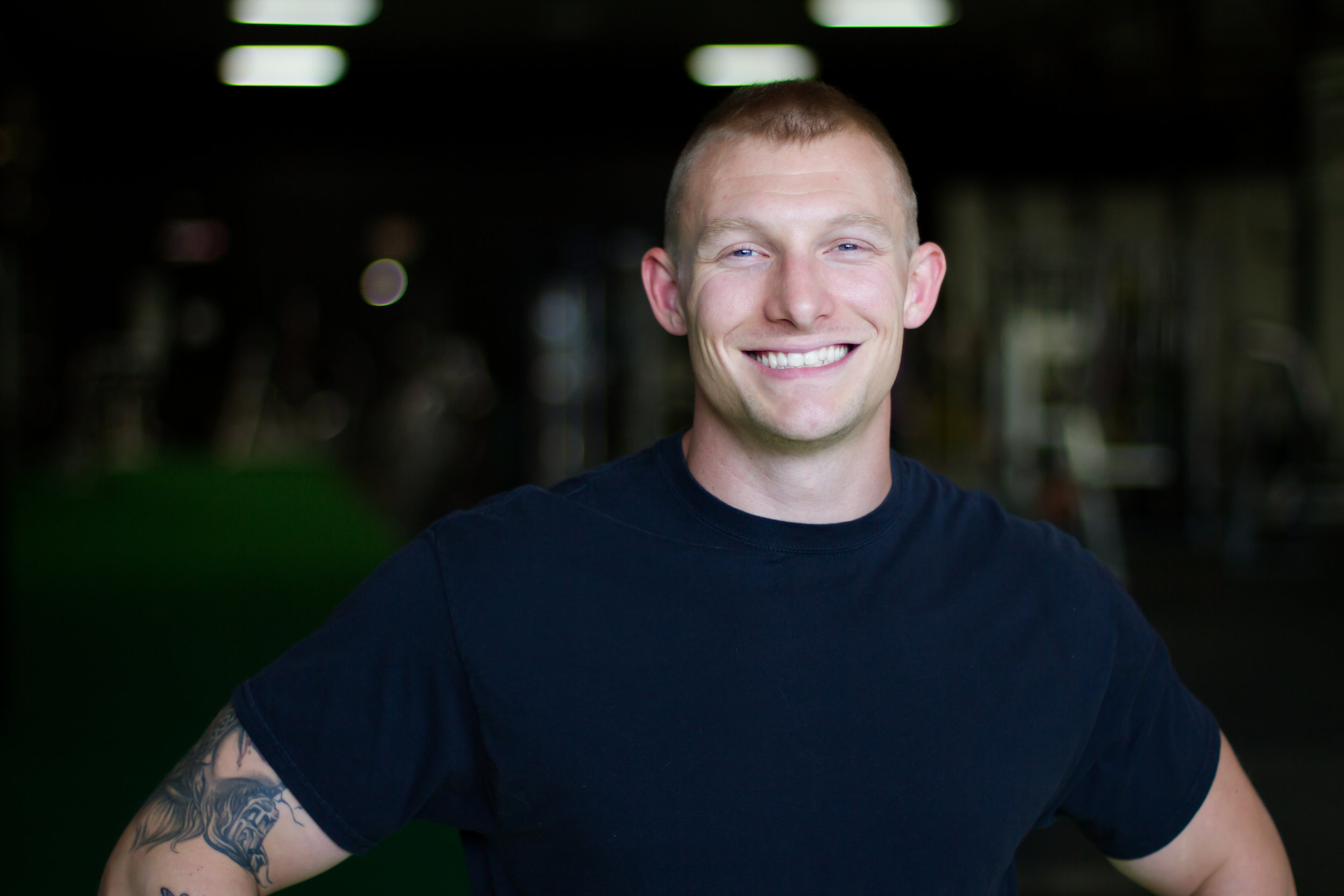 Evan Smith    Coach.  B.A. Journalism U of M. NASM - CPT. FRC Mobility Instructor. Bioforce Certified. Competitive BJJ and Muay Thai practitioner. Jedi Warrior.