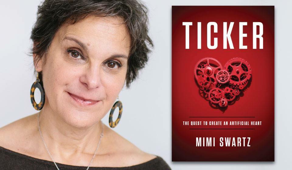 Ticker author Mimi Swartz