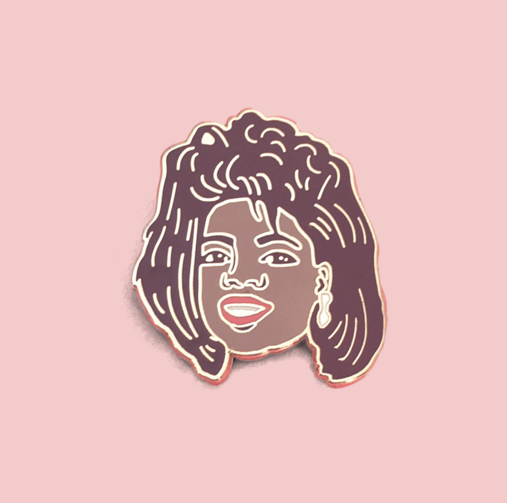 Oprah pin by  Amy Blue Illustration  and  can be purchased here.