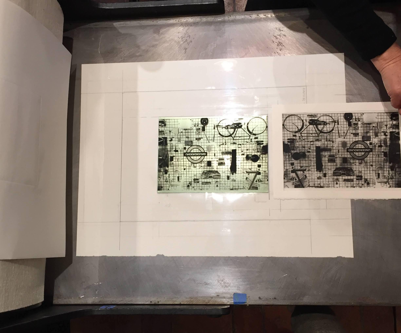 Photogravure printing