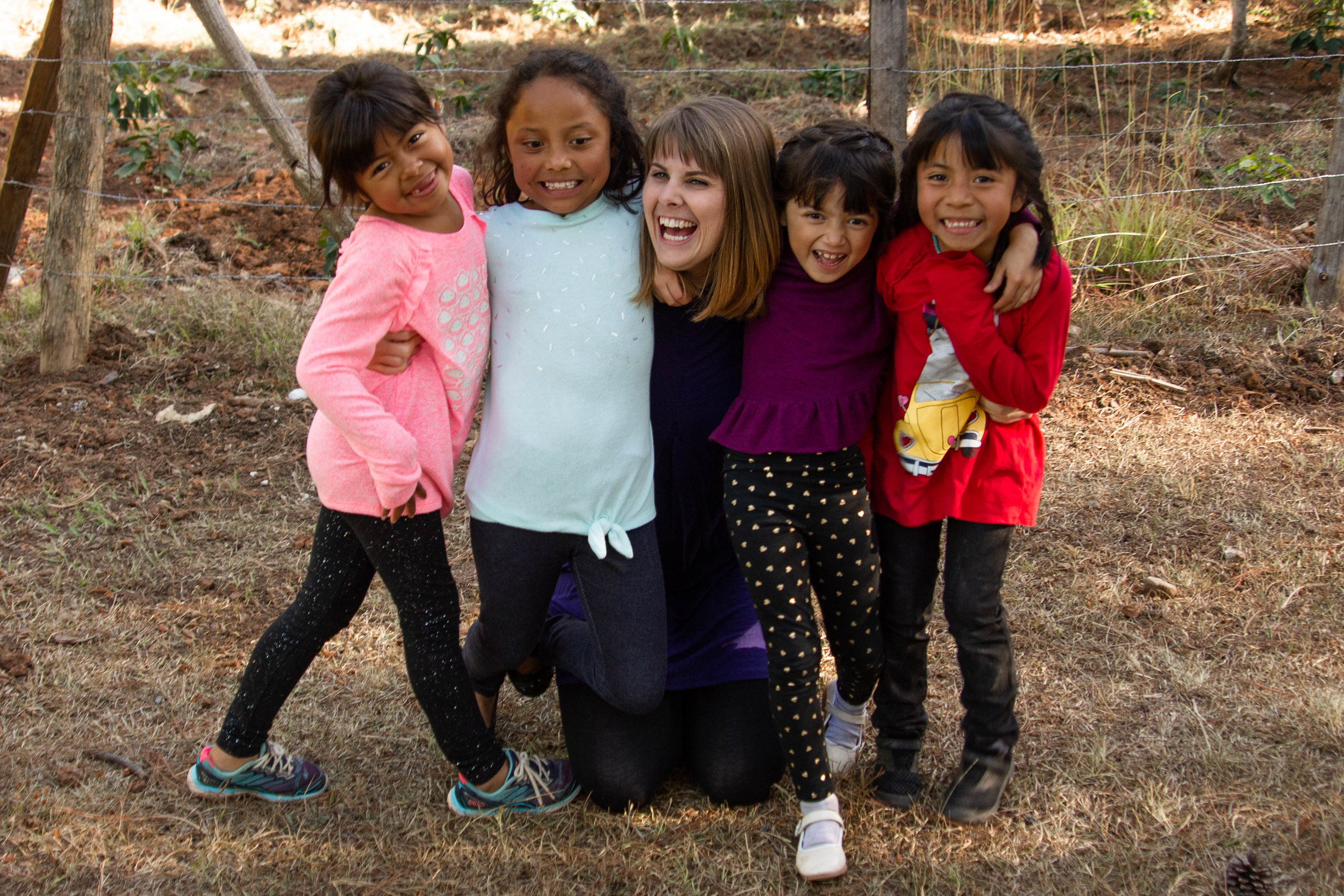 """- """"My trip down to the farm visiting the PTC girls was amazing and life changing. The joy these girls have despite their past circumstances is incredible and inspiring. I went down there to bless them, but I truly believe they blessed me far more."""" Bekah Read"""