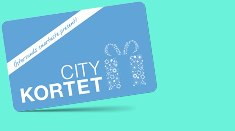 Citykortet - Presentkort som gäller i de flesta av stans butiker Läs mer..
