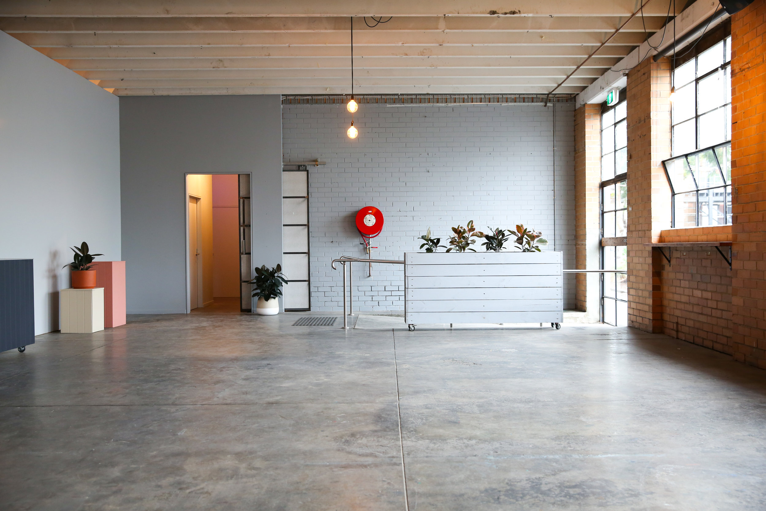 small talk event space