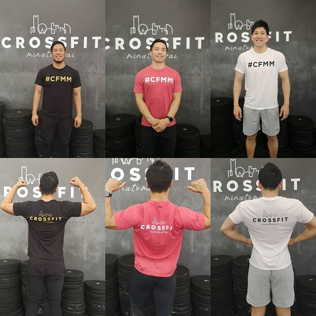 . 【CrossFit minatomirai New T-Shirt入荷しました🎉】. . CrossFit minatomiraiの新しいTshirtが完成しました🏋️. . WhiteとBlackそしてRedの3色があり、サイズはUnisexのS-Lとなります!. 数量限定ですので、お早めにどうぞ😋. . 【New CrossFit minatomirai Tshirt alert🚨】. . New Tshirts are now available at CrossFit minatomirai 🎉. . Size: Unisex S M L. Colour: White Black Red. . Only a limited number is available. Go grab yours fast🏃