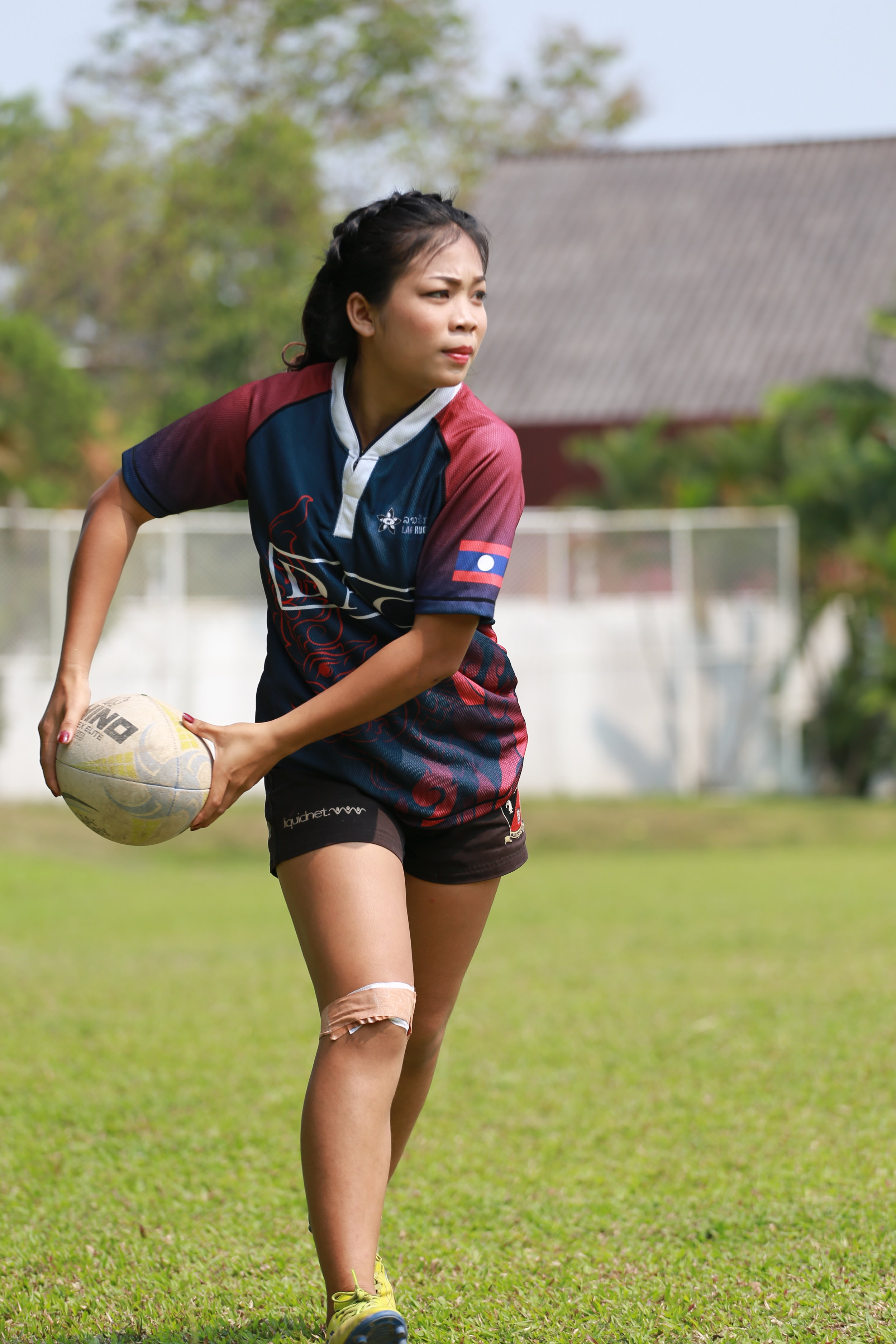Mouk plays for the Vientiane Lions and joined the DAC Lao Women's National Team at the 2017 Southeast Asian Games in Kuala Lumpur and the 2018 Asia Rugby 7s Trophy in Brunei.