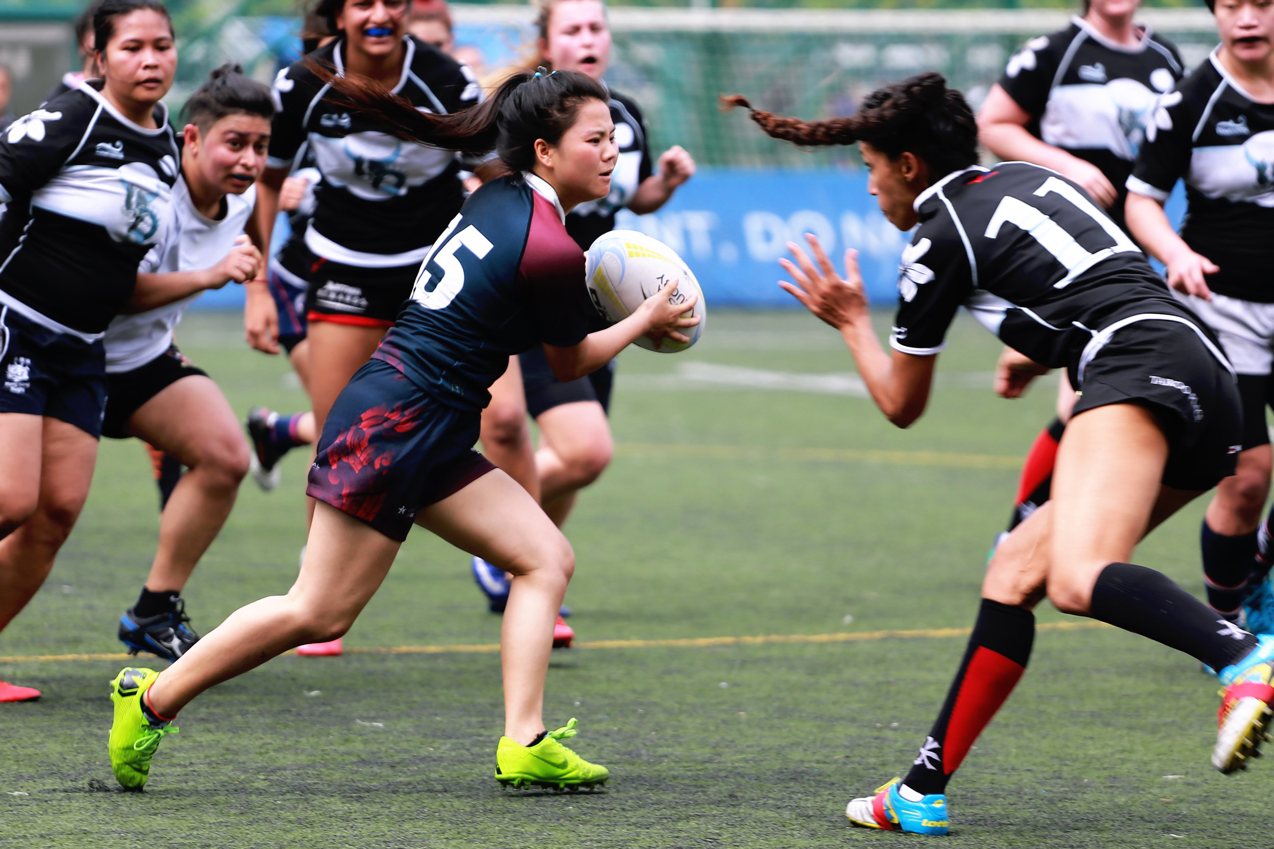 Aeng Khang's work as a ChildFund Pass It Back Coach and LRF staff member has led her to support 700 youth players - more than half of them girls - to participate in the rugby and life skills curriculum.