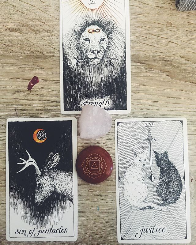 Daily spread - hitting me with the things I've been telling myself all week. Mistakes are done, they happen, and I need to be kinder to myself. I also need to slow down, stop rushing and show myself some compassion #wildunknowntarot #tarot #dailyspread