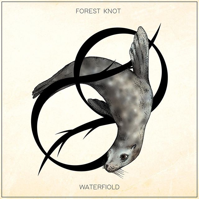 12. Waterfiold - Out July 5th . . . . Artwork by Georgine Makes #newmusic #downtempo #electronica #forestknot