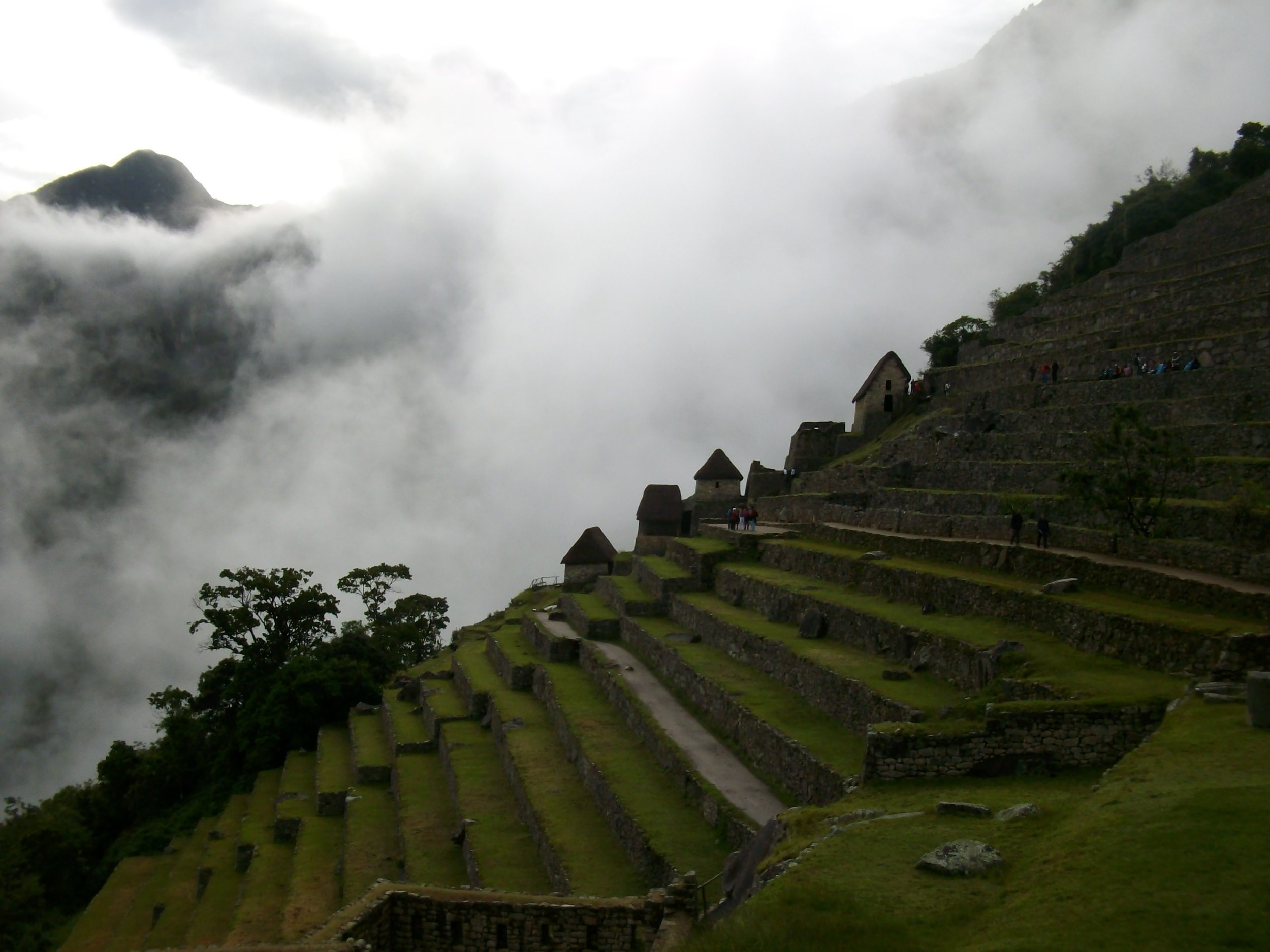 The ancient city Machu Picchu