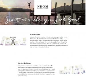 Neom Online Store