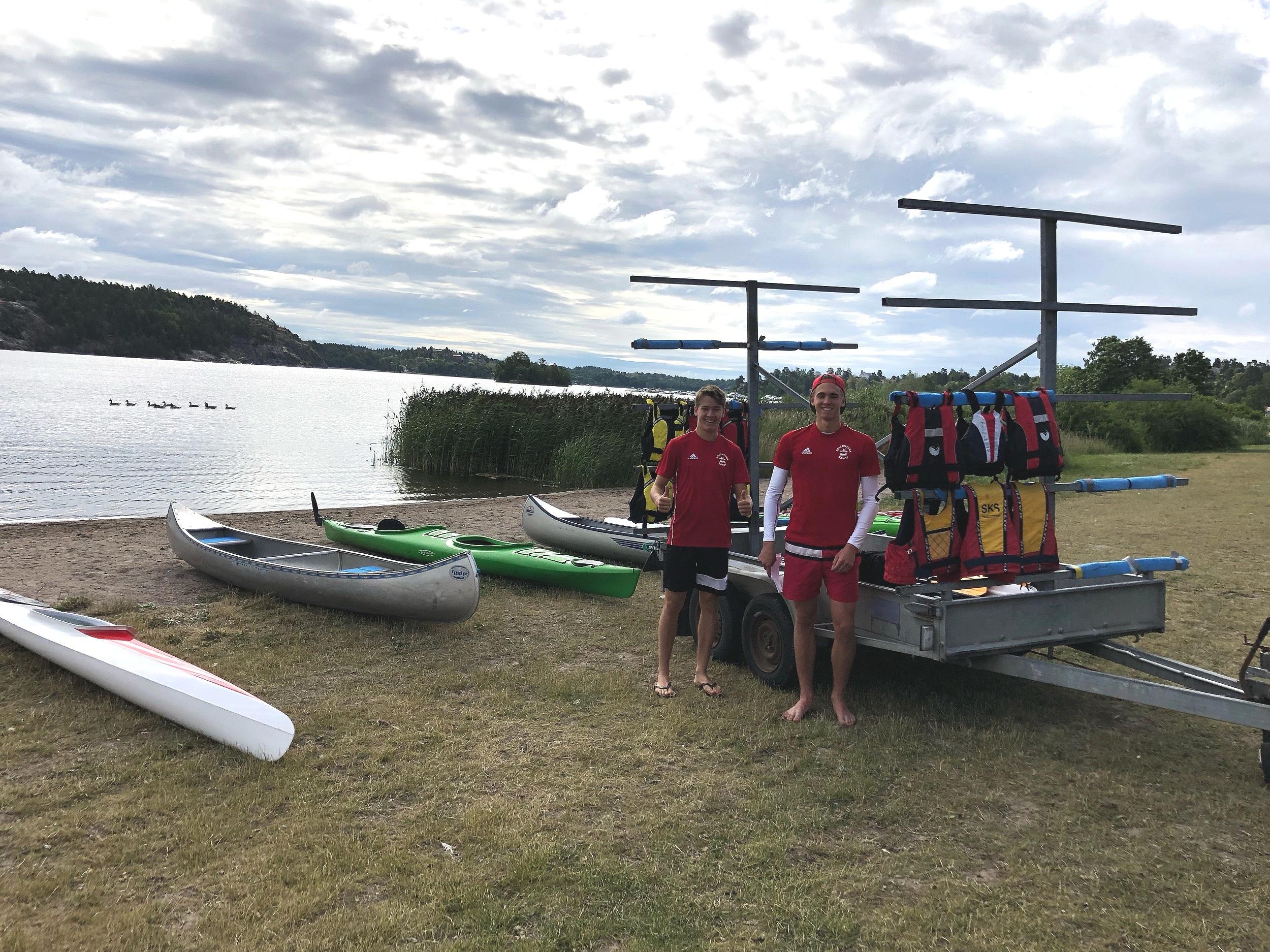 Eric & Gustav - Våra ledare på Summer Camp