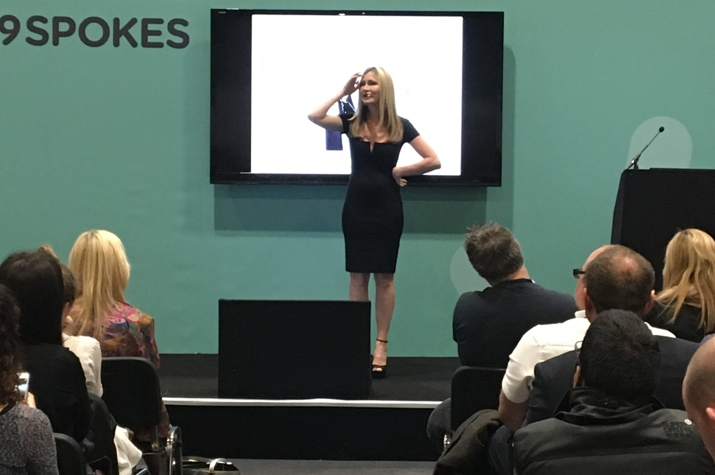 THE BUSINESS SHOW - Caprice headlined at The Business Show at ExCel London. Caprice talked about her rise to fame and career transition into business and entrepreneurship to a record breaking crowd.2017