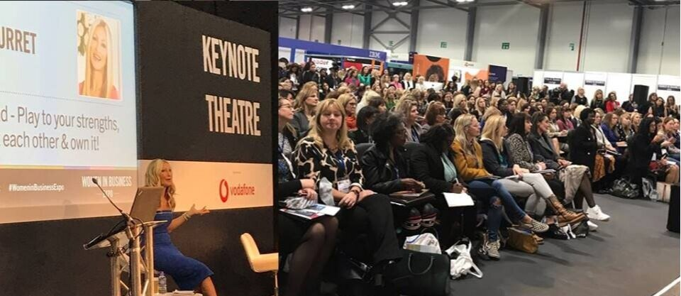 WOMEN IN BUSINESS EXPO  - Sold out keynote speech given at The Women In Business Expo 2019. Caprice spoke about women empowerment and using her platform to promote a positive change.2019