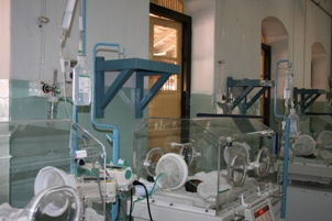 The new infusion and syringe pumps in use