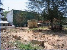 Peellgoda School in ruins