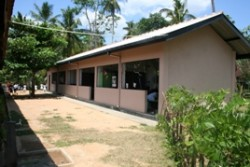 Repaired and refurbished classrooms
