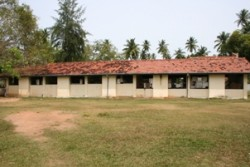 Old Miriprnna school buildings