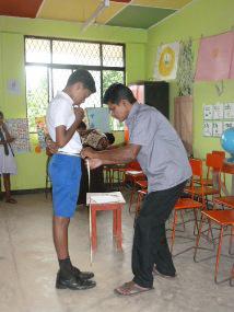 Measuring for uniform