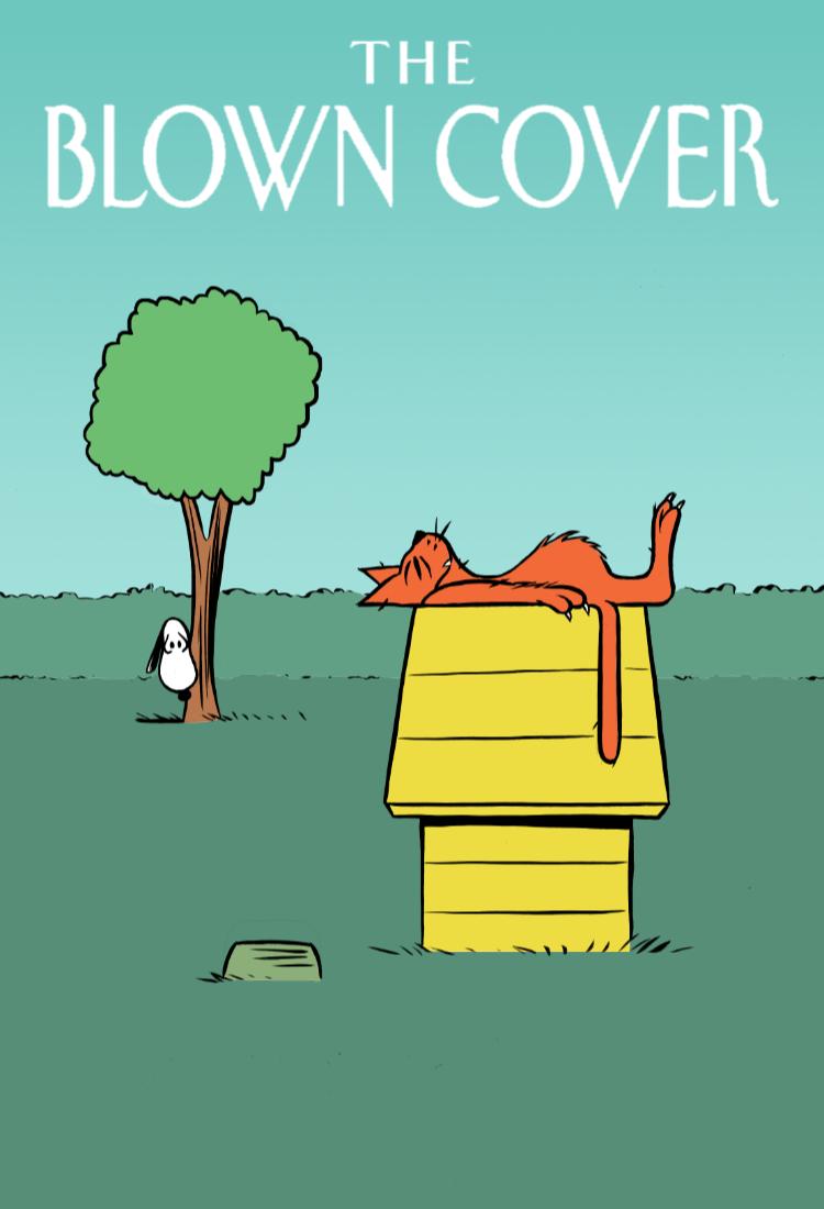 andre-slob_blown-cover_cat_dog_snoopy_magazine_illustration.jpg