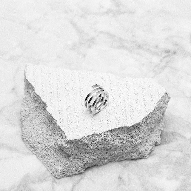 | TEMPTATION silver ring ✨ #persuedecph #handcrafted #sterlingsilver #unisex #danishdesign
