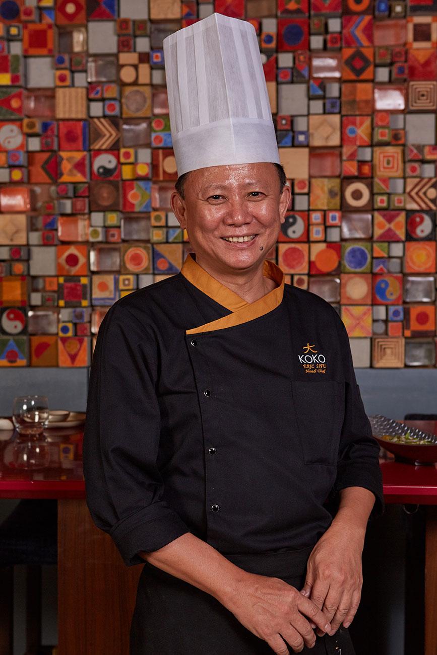 Head Chef Eric Sifu