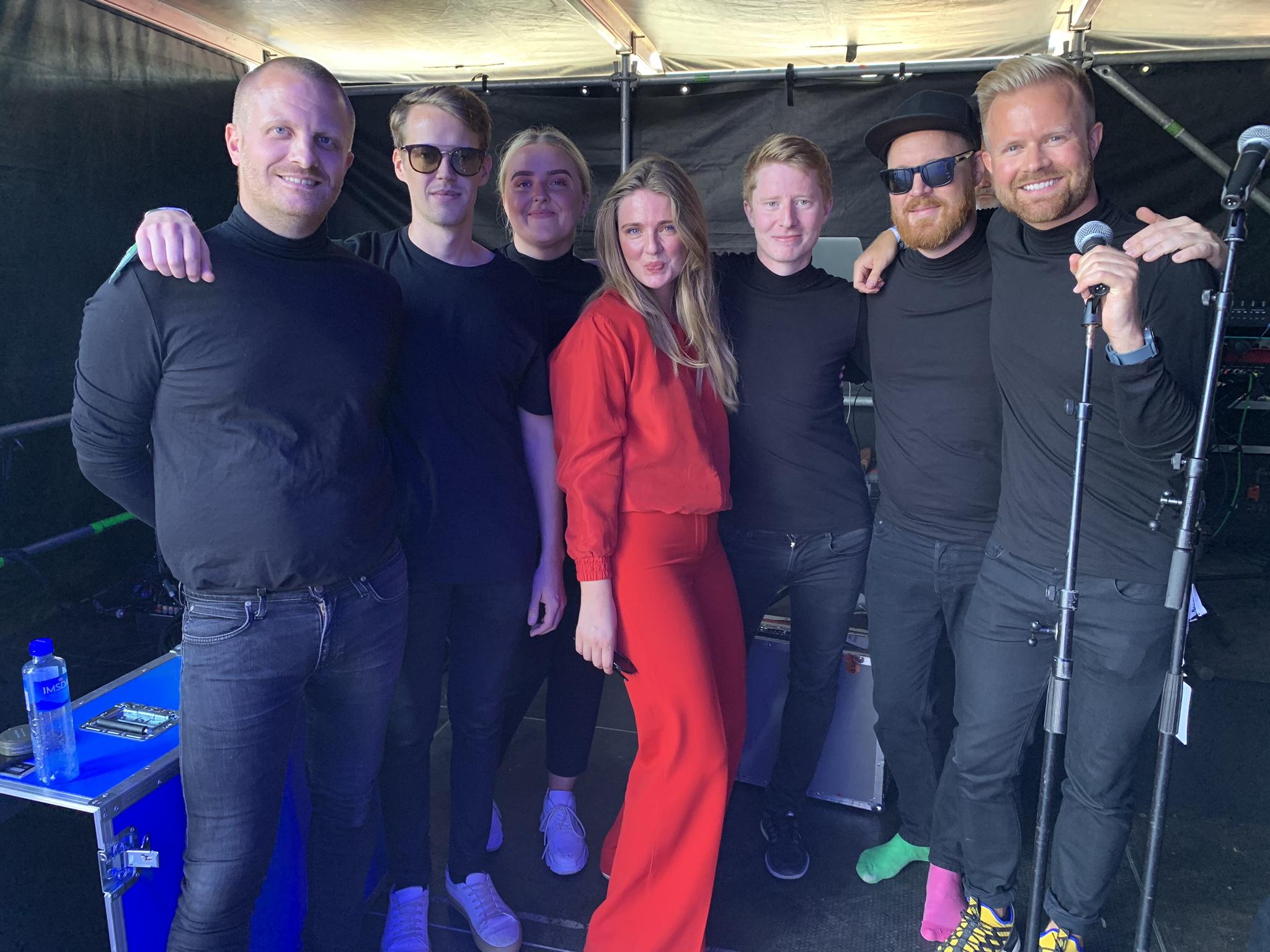 Melis spilte på Fjordfesten 2019 i Sandefjord, lørdag 3.august!