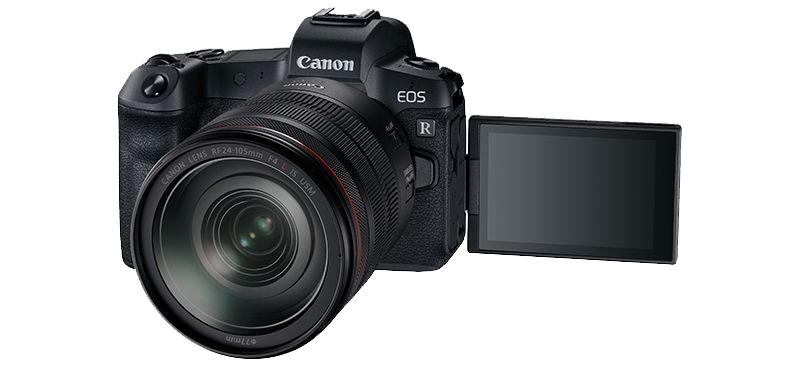 Volledig kantelbaar scherm Canon EOS R