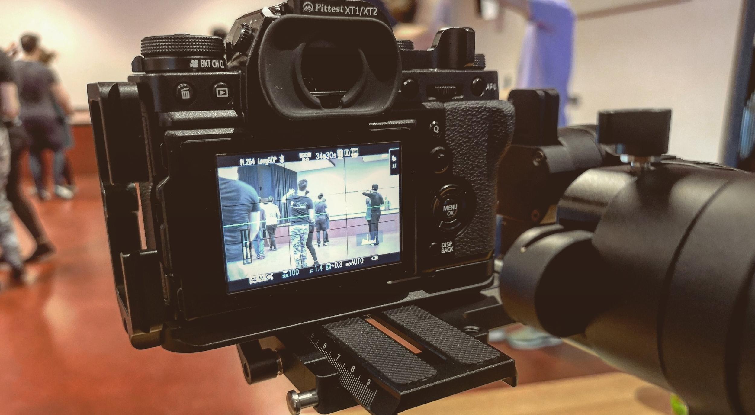 Fujifilm X-T3 on Zhiyun Crane 2