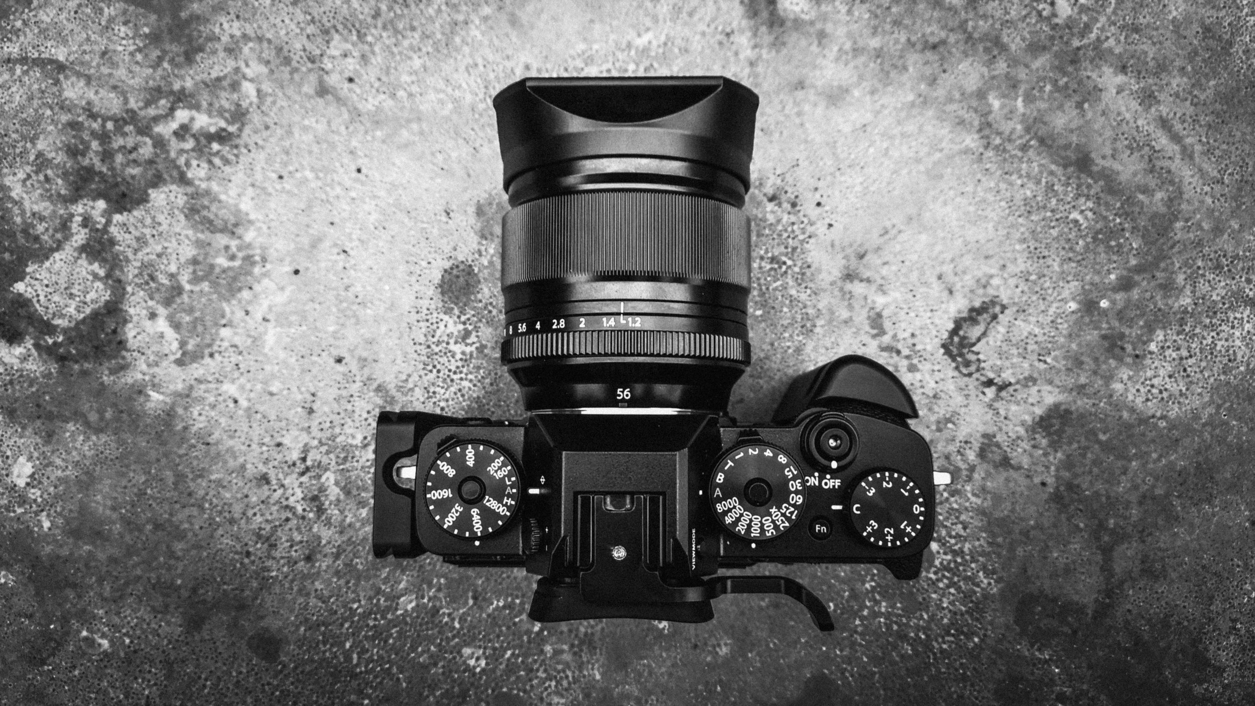Fujifilm X-T3 handgrip thumbgrip 56mm 1.2
