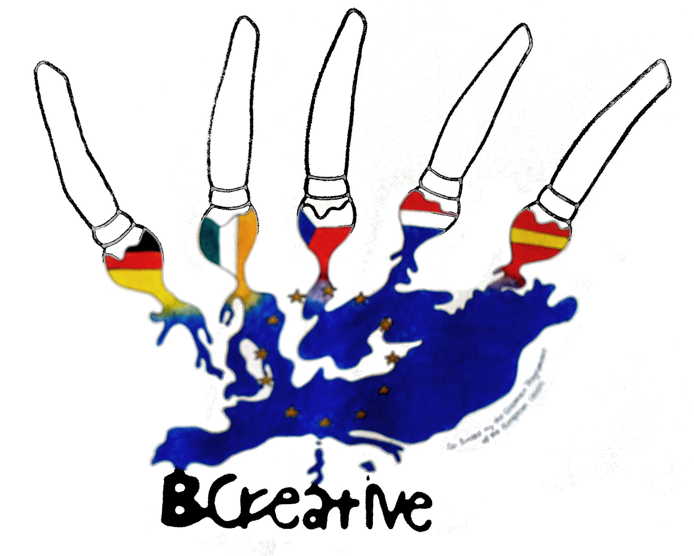 Erasmus+ B CreAtive - B CreAtive brings together, in a spirit of cooperation through creativity,students and staff from Erasmus+ project schools across five nations - Czech Republic, Germany, Ireland, Netherlands and Spain.