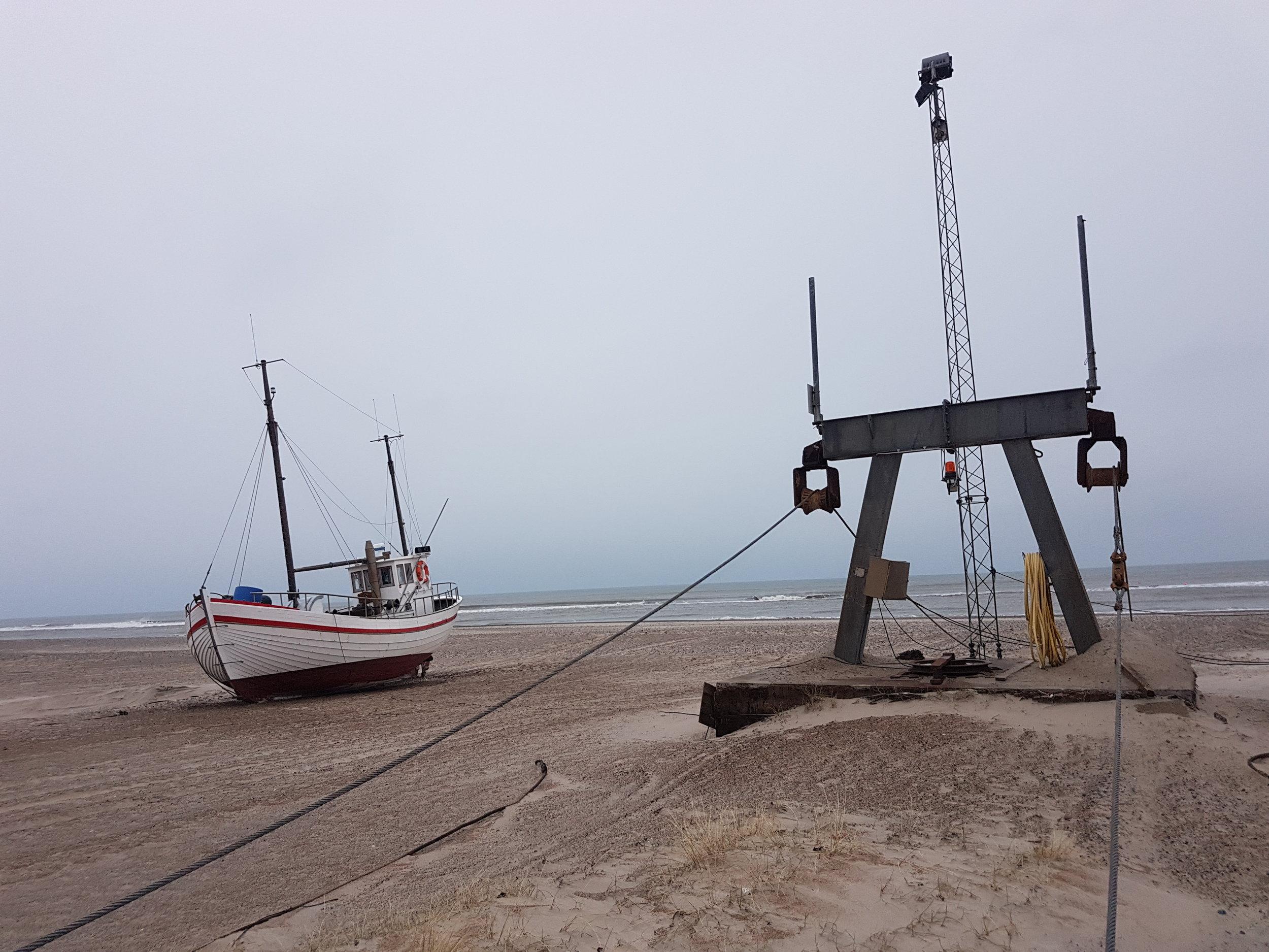 Havbådene ved Slettestrand