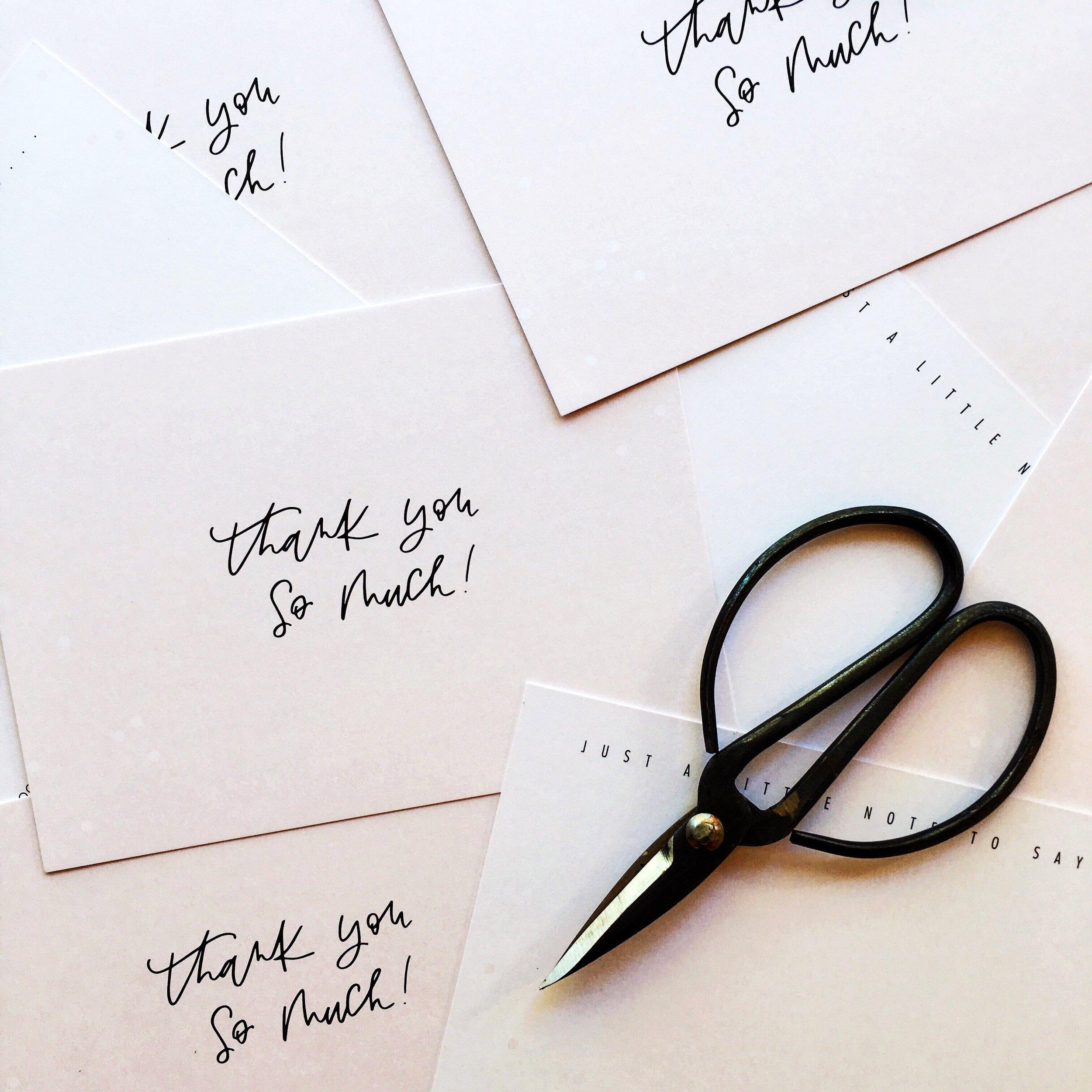 Light of Leni | Custom Note Cards