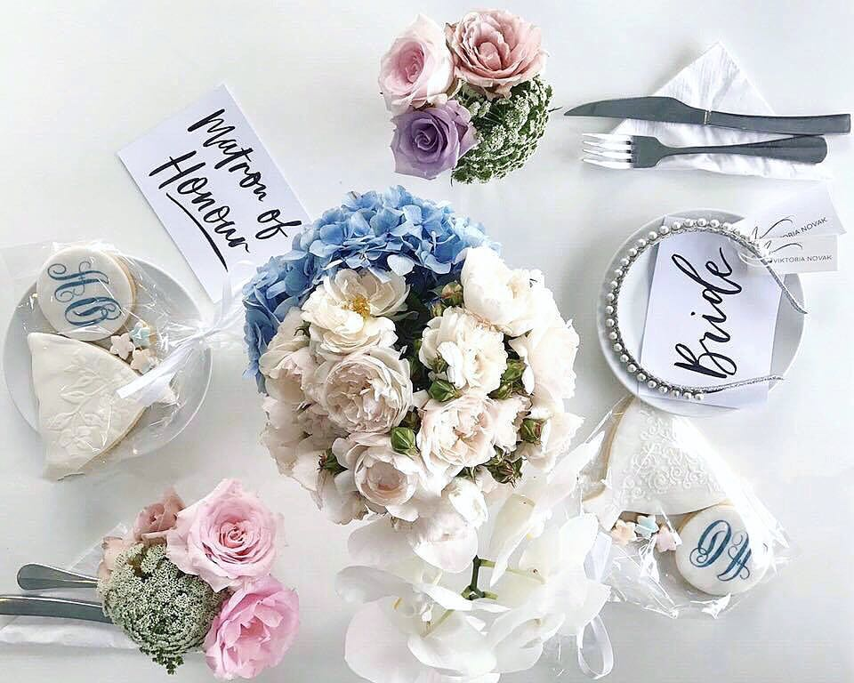 Light of Leni | Hand lettering | Place Cards