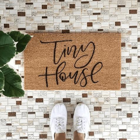 Light of Leni | Hand Lettering | Custom Doormat