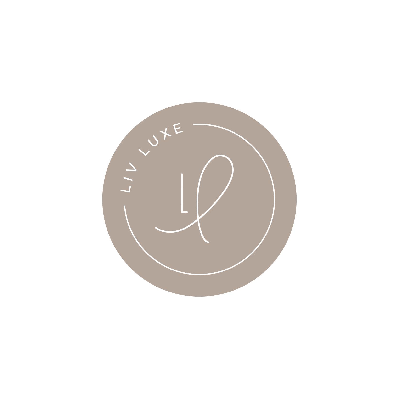 Light of Leni | Logos | Liv Luxe - round