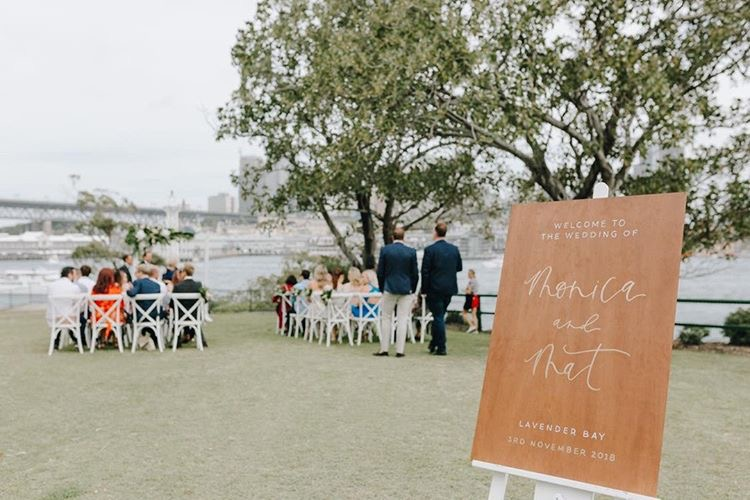 Light of Leni | Signage | Wedding Welcome Sign