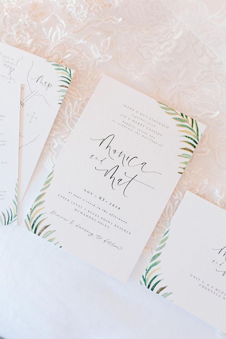 Light of Leni | Wedding & Event Stationery | Monica & Mat