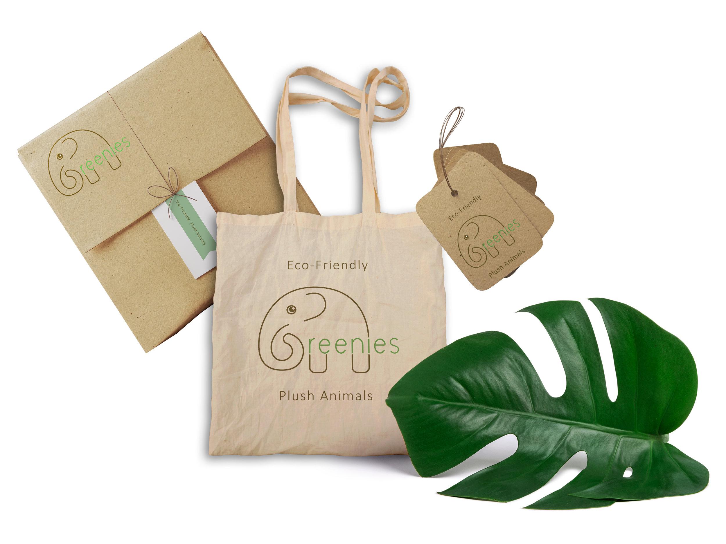 Greenies Eco-Friendly Plush Animals Branding