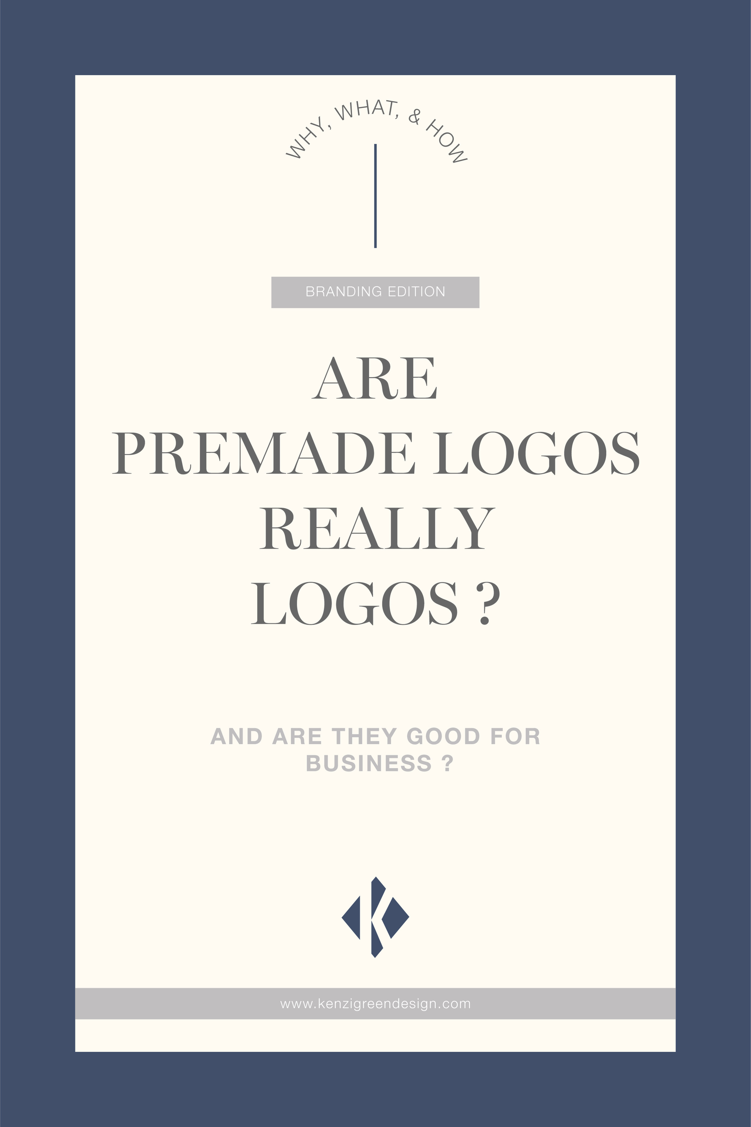 Are Premade Logos Really Logos